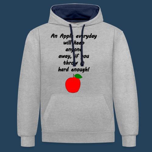Apple Doctor - Kontrast-Hoodie