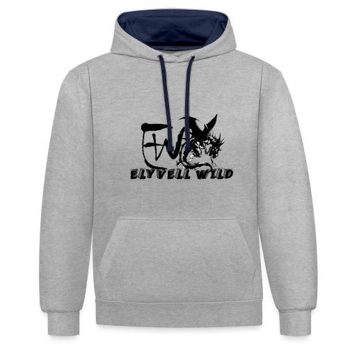 ELYVELL WILD - Sweat-shirt contraste