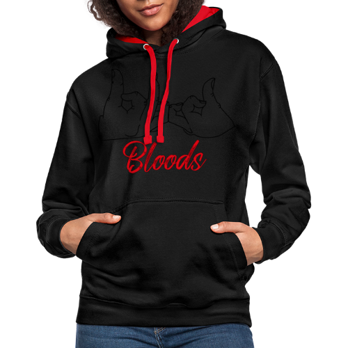 Bloods - Sweat-shirt contraste