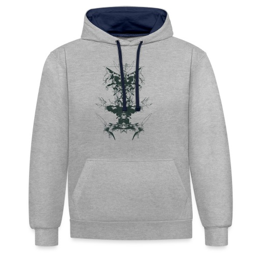 Magnoliids - Contrast Colour Hoodie