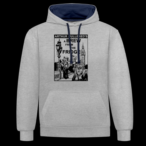 A Brew from the Fridge v2 - Contrast Colour Hoodie