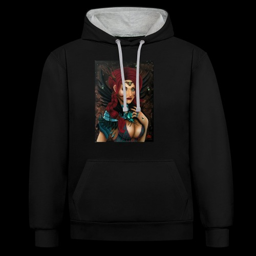 Nymph - Contrast Colour Hoodie