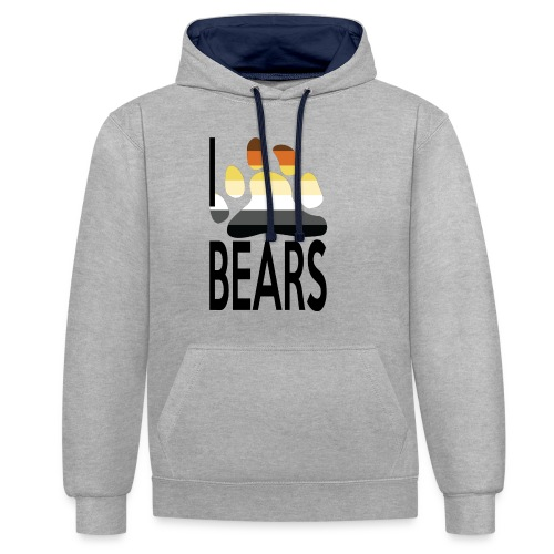 I love bears - Sweat-shirt contraste