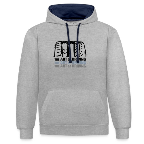 AoD Tire - Contrast Colour Hoodie
