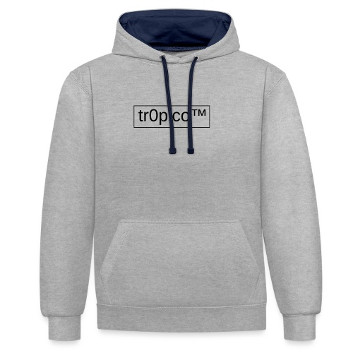 tr0pico™ - Contrast hoodie