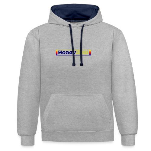 present by HoneyRam - Kontrast-Hoodie