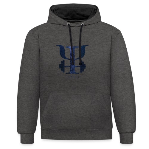 galaxy logo - Contrast Colour Hoodie