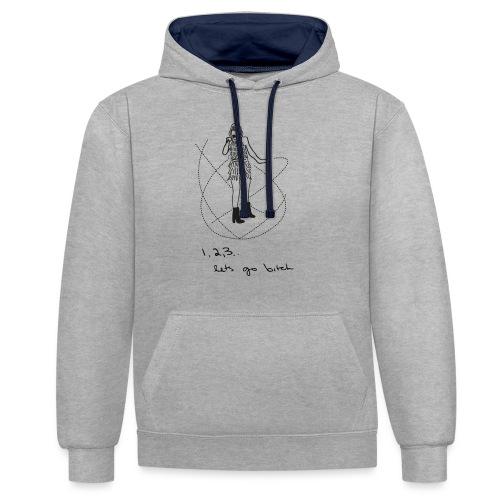 isn't it delicate - Contrast hoodie