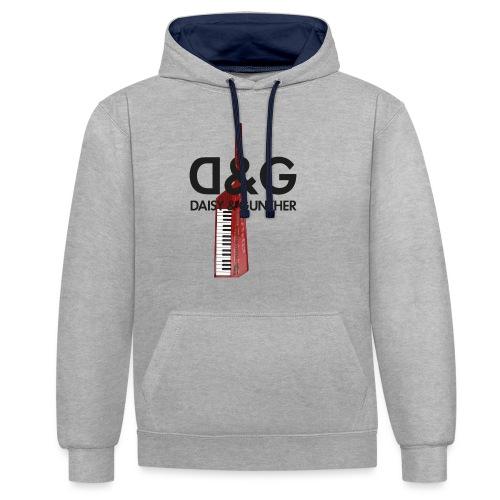 Met keytar-logo - Contrast hoodie