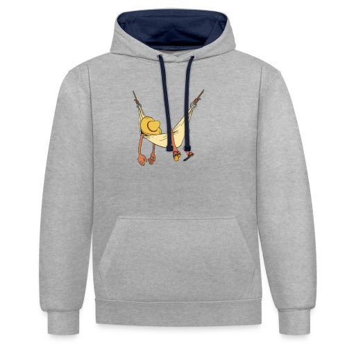 Summertime by Daiv - Sweat-shirt contraste