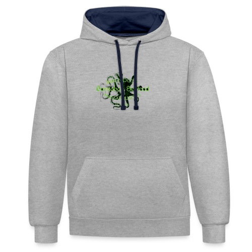 Barnabas (H.P. Lovecraft) - Contrast Colour Hoodie