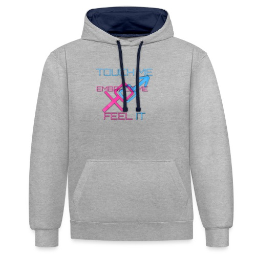 Sex and more up to - Contrast Colour Hoodie