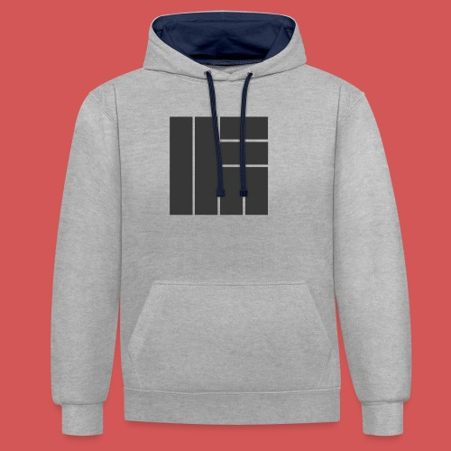 NÖRCup Black Iconic Edition - Contrast Colour Hoodie