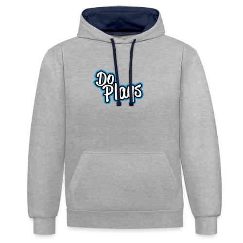 Kinderen Shirtje | DoPlays - Contrast hoodie