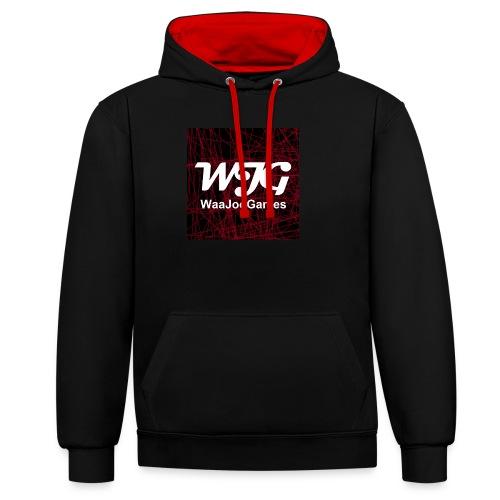 T-shirt WJG logo - Contrast hoodie