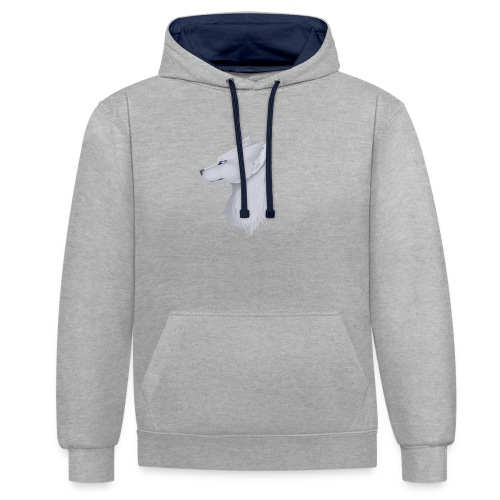 Wolf Skin - Contrast Colour Hoodie