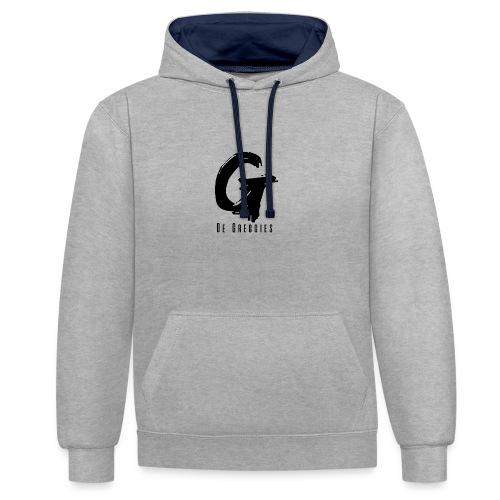 De Greggies - Sweater - Contrast hoodie