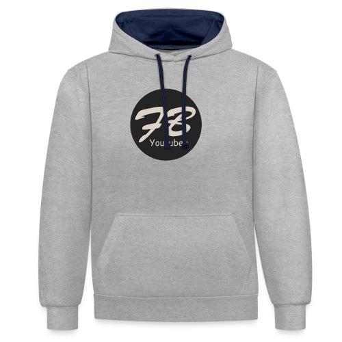 TSHIRT-YOUTUBER - Contrast hoodie