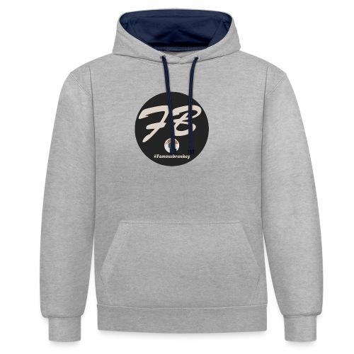 TSHIRT-INSTATUBER-METLOGO - Contrast hoodie