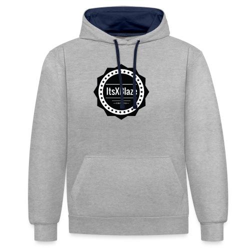 ItsXBlaze Logo 2 Hoodie - Contrast hoodie