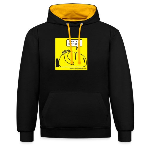 Siesta is my Fiesta - Contrast Colour Hoodie