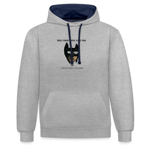 MASK - Contrast Colour Hoodie