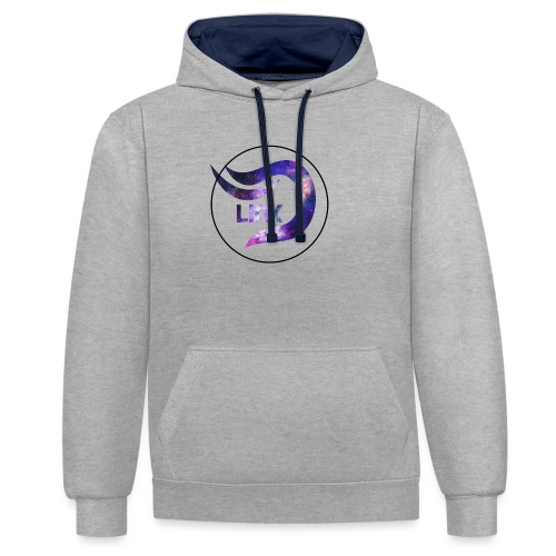 Daza Link Galaxy Theme Merchandise - Contrast Colour Hoodie
