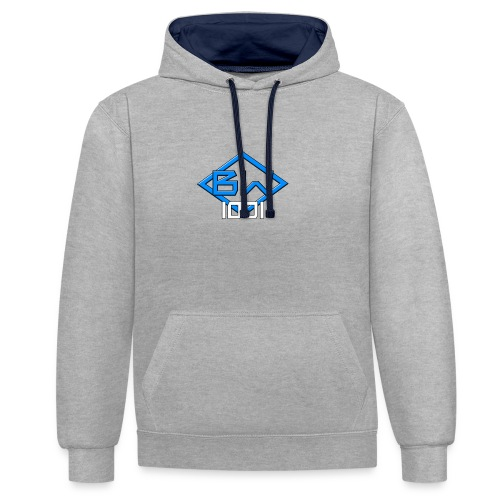 Popular branded products - Contrast Colour Hoodie