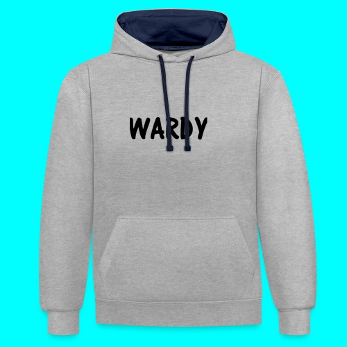Wardy - Contrast Colour Hoodie