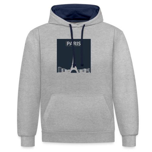 Paris - Collection 2015 - Sweat-shirt contraste