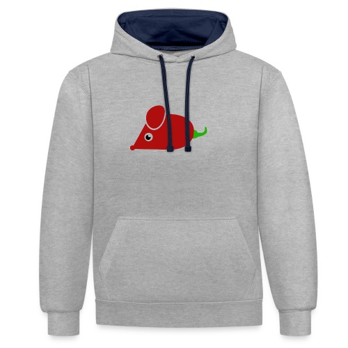 Chillimouse - Kontrast-Hoodie