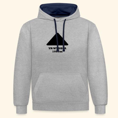 Snowdon - Contrast Colour Hoodie