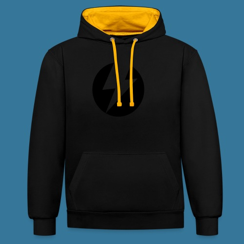 BlueSparks - Inverted - Contrast Colour Hoodie