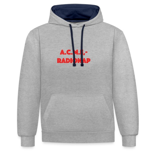 acmeradionaprot - Kontrast-Hoodie