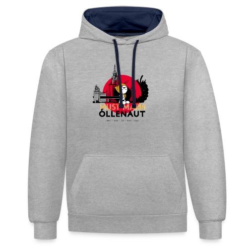 Õllenaut Must Mari - Contrast Colour Hoodie