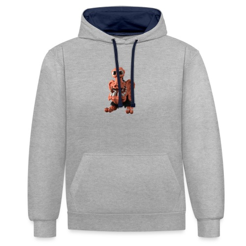 Very positive monster - Contrast Colour Hoodie