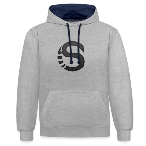 ScorpyArtZ Logo New shirt png - Contrast hoodie