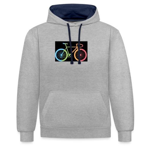 Coureur - Contrast hoodie