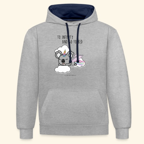 Buzz koala - Sweat-shirt contraste