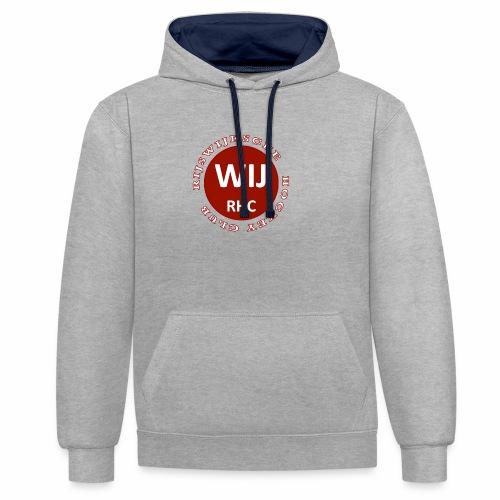 RIJSWIJKSCHE HOCKEY CLUB - Contrast hoodie