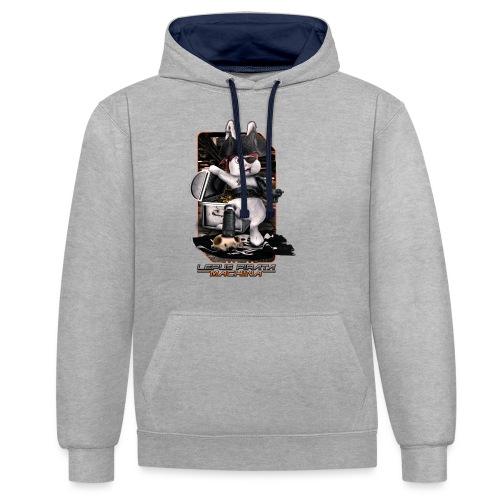 Lepus Pirata Machina - Contrast hoodie