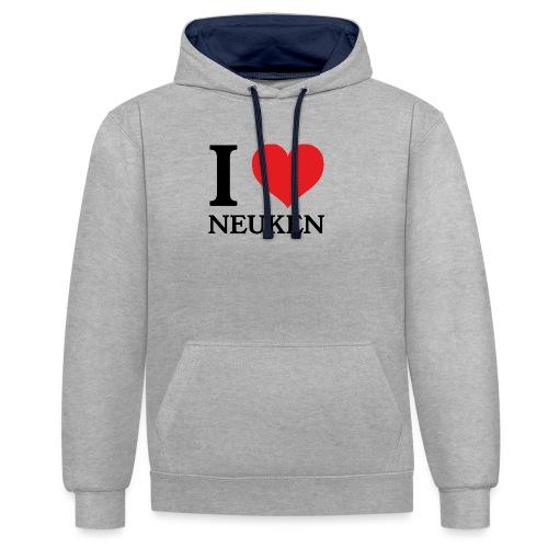 iloveneuken - Contrast hoodie