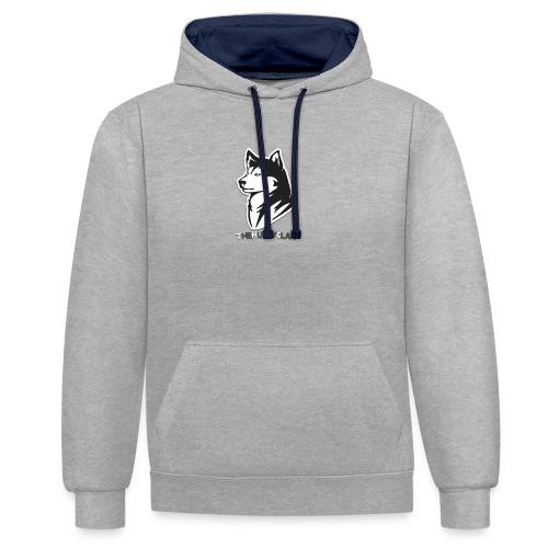 LOGO SHIRTS png - Contrast hoodie
