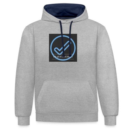 The2Joetoebers - Contrast hoodie