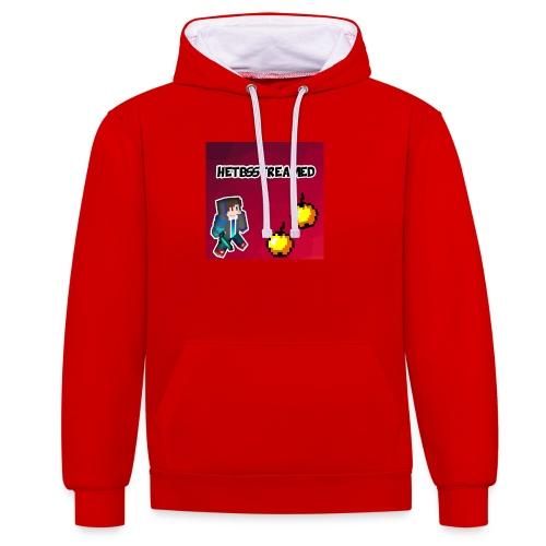 Logo kleding - Contrast hoodie