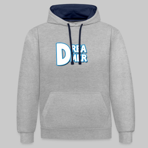 Dreamers' name - Contrast Colour Hoodie