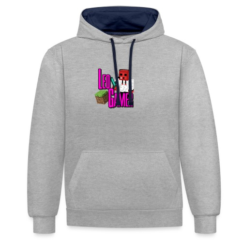 LeoGamer Minecraft - Contrast Colour Hoodie