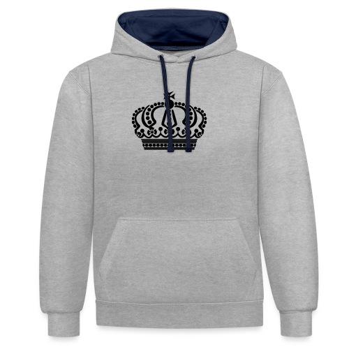 kroon keep calm - Contrast hoodie
