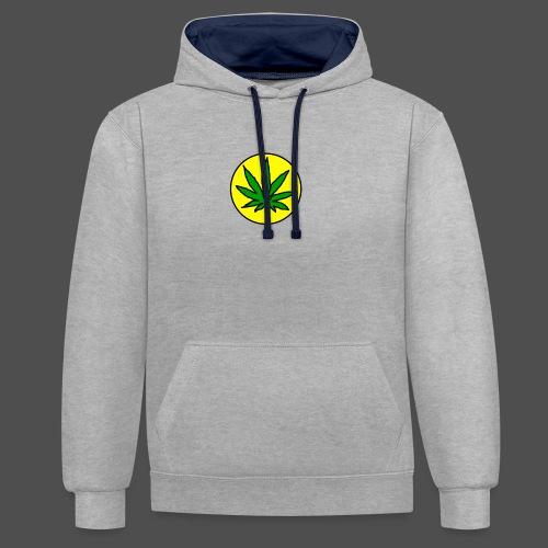 Dayweed_inc_logo - Kontrast-hættetrøje