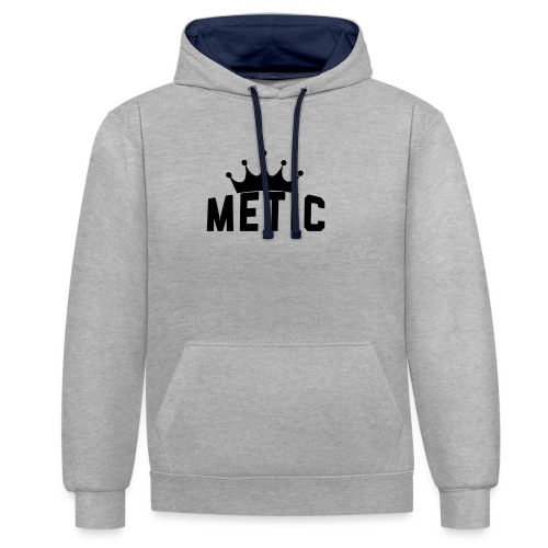 T Shirt design Black Bigger - Contrast hoodie